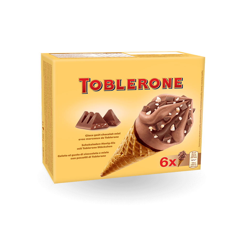 Toblerone Wafelhoorntjes