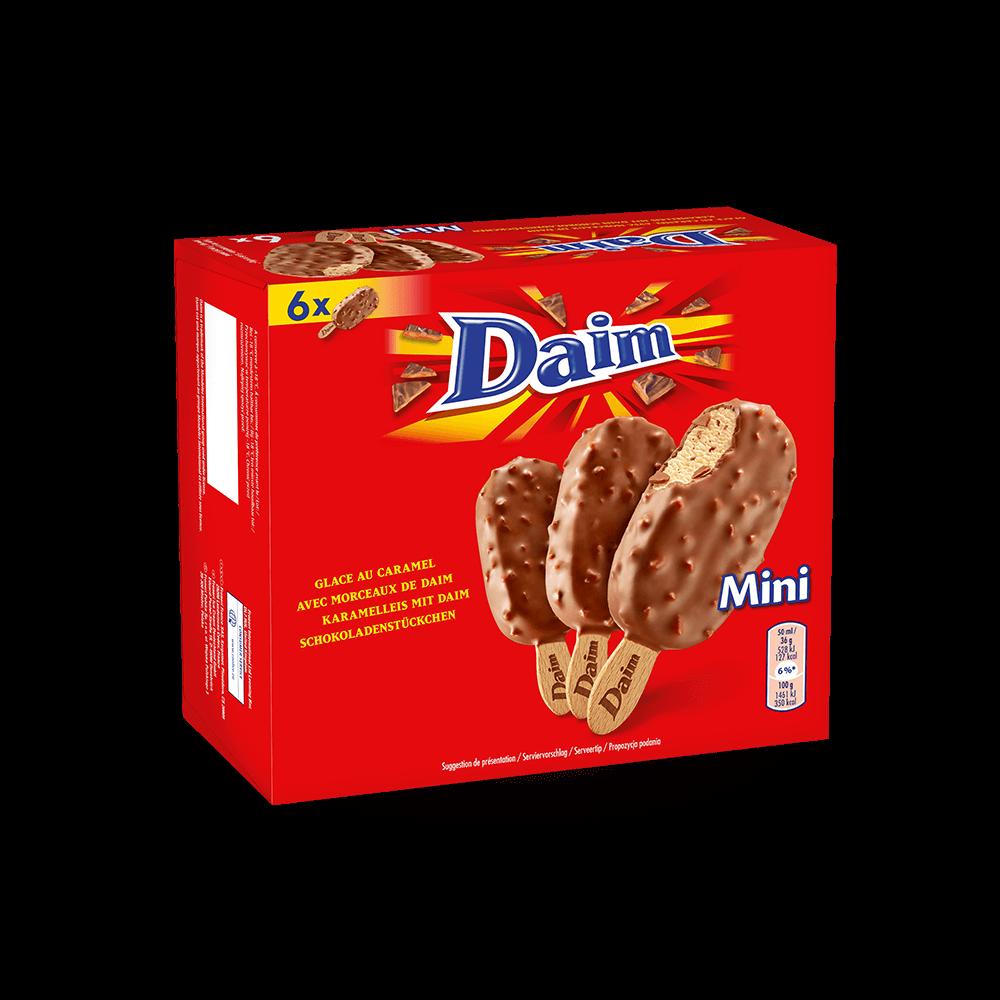 Mini bâtonnets Daim