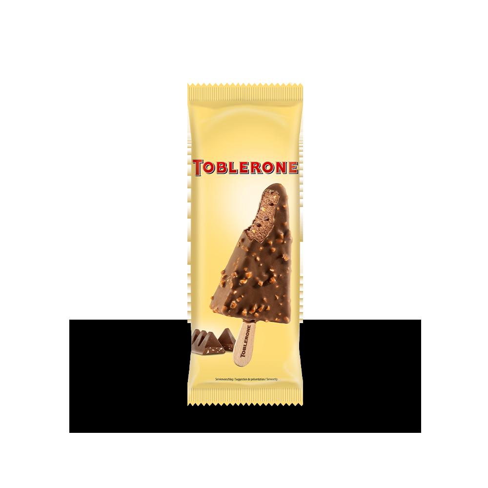 Toblerone IJslolly voor onderweg